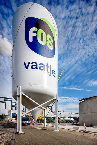 Fosfaat uit afvalwater Amsterdam