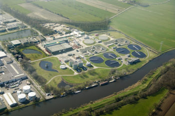 Fosfaat uit afvalwater in Amersfoort