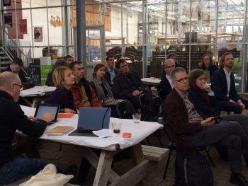 Laatste ledenbijeenkomst van 2016 bij 'Uit Je Eigen Stad' & RINEW