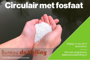 Symposium 'Circulair met fosfaat' op 12 mei