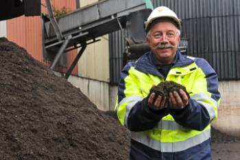 Einde-afvalstatus voor compost van Twence