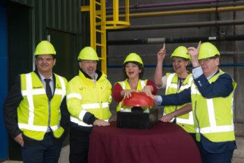 Opening ICL Fosfaat recycling installatie