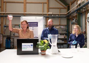 Terugwinnen van water, energie en nutriënten uit afvalwater