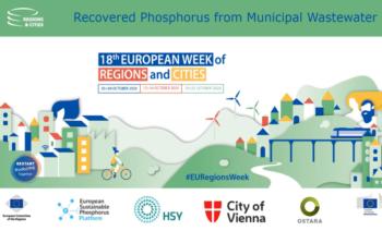 Terugblik op de webinar 'Recovered phosphorus from municipal wastewater'